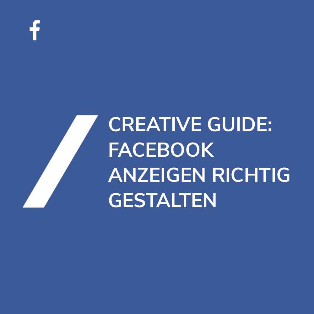 Facebook Anzeigengestaltung