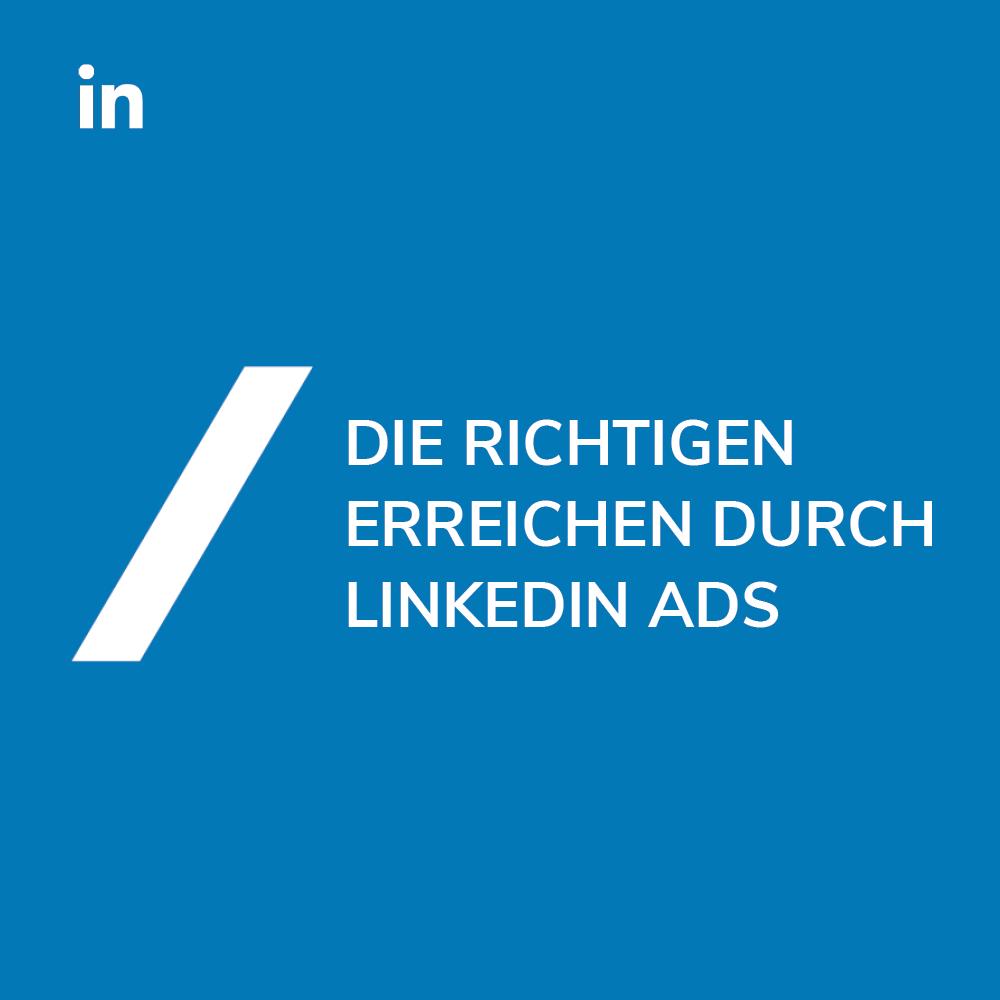 Alles über LinkedIn Ads