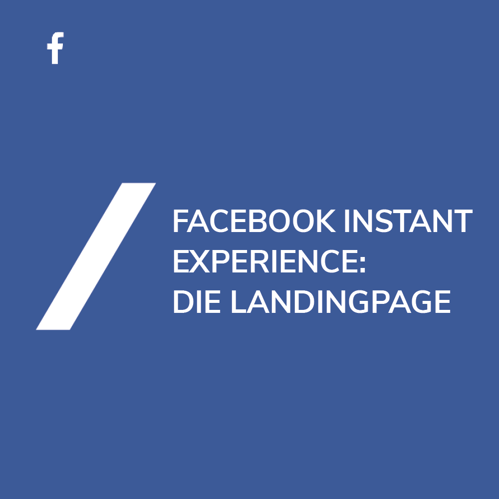 Landingpages in Facebook erstellen