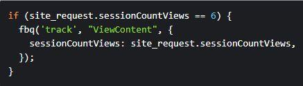 Facebook Pixel Code Segmentierung