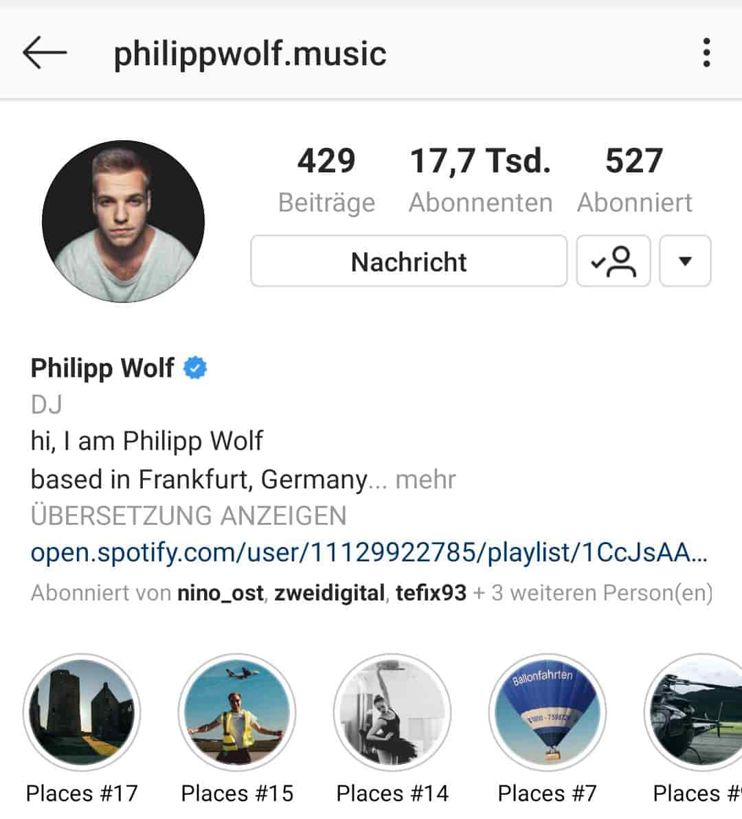 Philipp Wolf Music