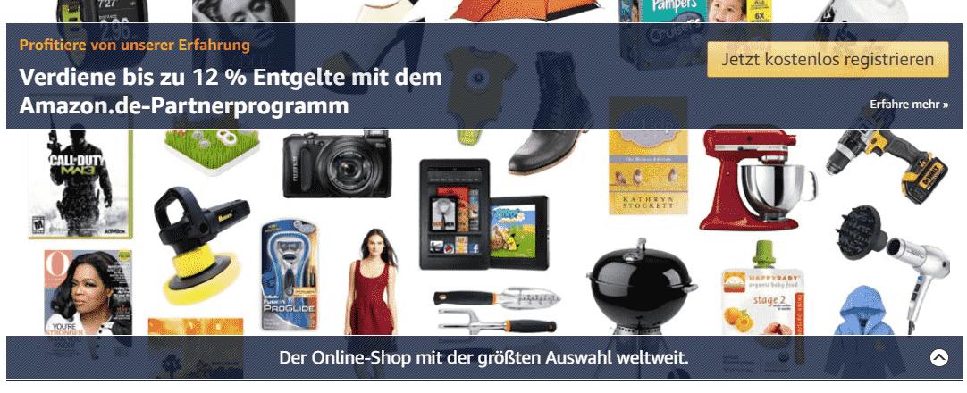 Affiliate Programm Amazon