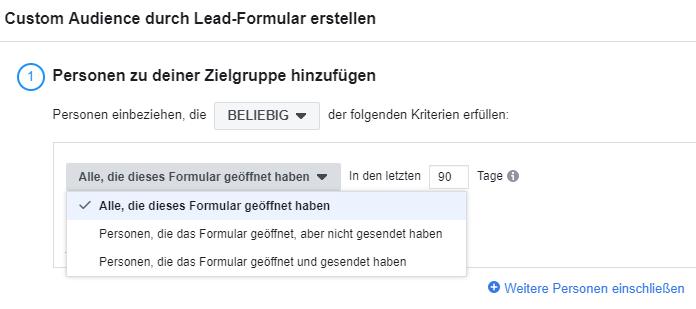 Facebook Lead Ads optimieren