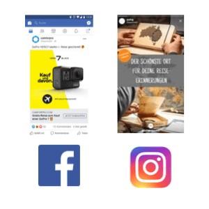 Facebook Ads Beispiele