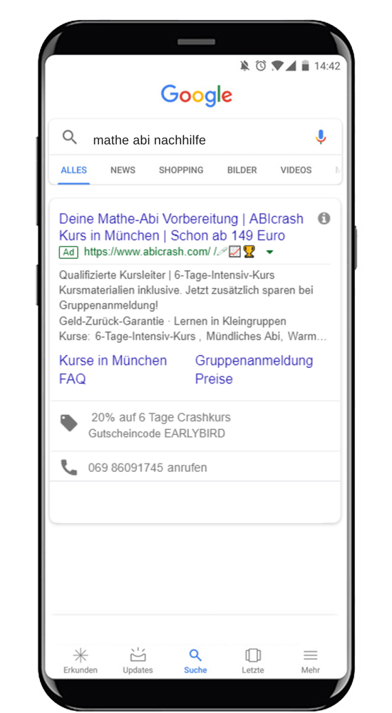 google ads agentur abicrash
