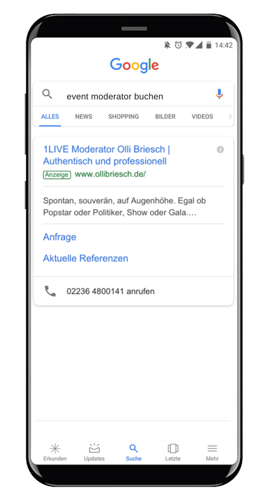 google ads agentur olli briesch