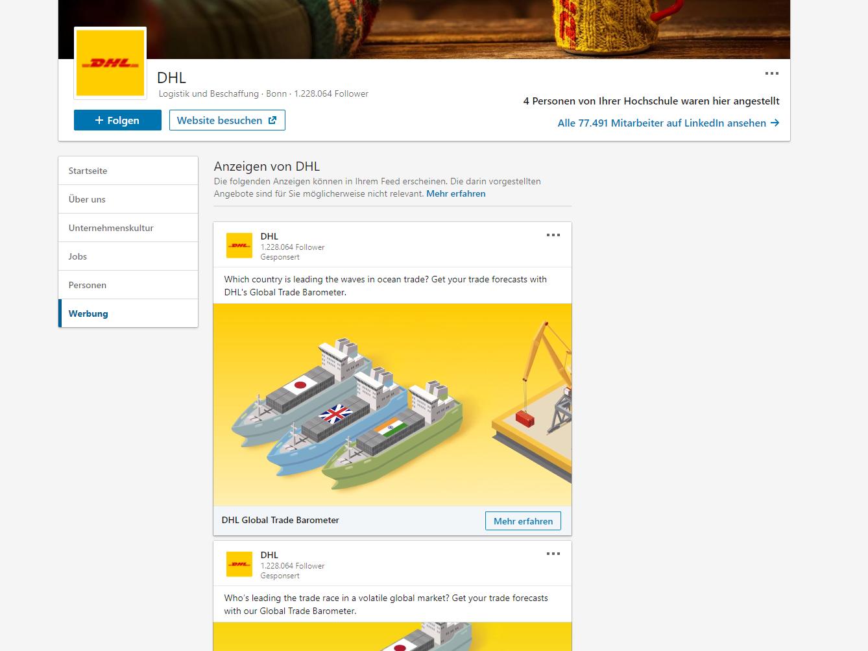 LinkedIn Ads Content