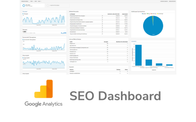 SEO Dashboard Google Analytics