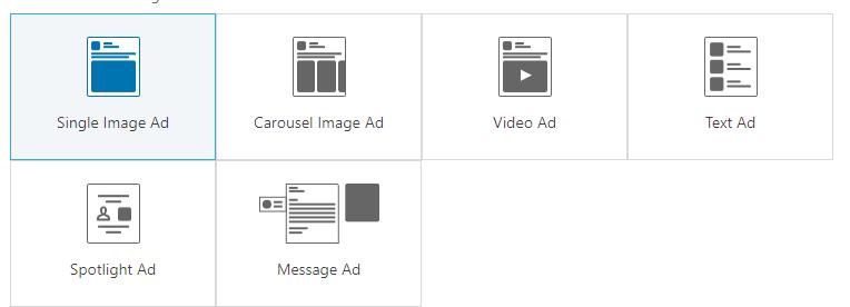 LinkedIn Anzeigenformate
