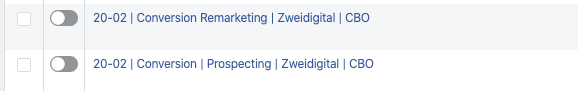 Facebook Kampagnenbudget Conversions