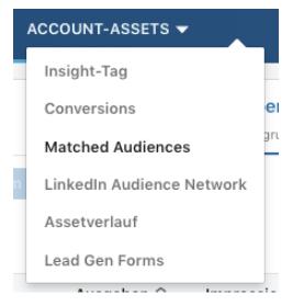 Linkedin Ads Mmatched Audiences