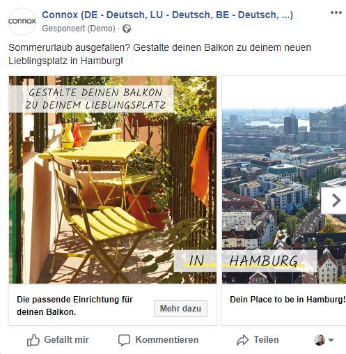 Facebook Corona Aktion