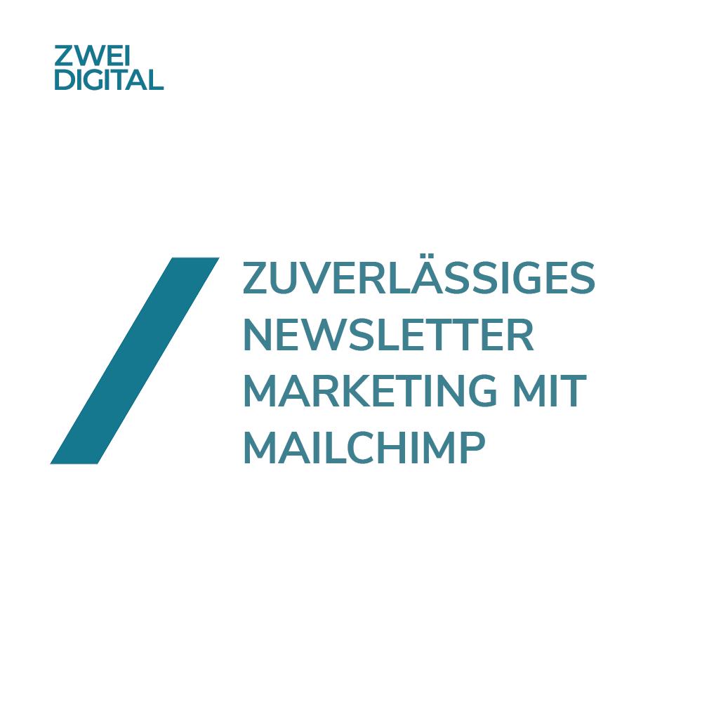 Newsletter Marketing mit Mailchimp