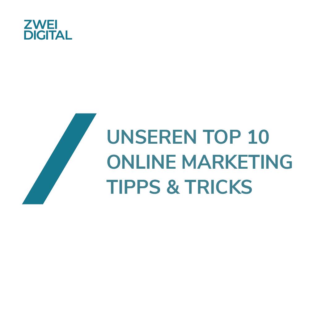 Online Marketing Tricks