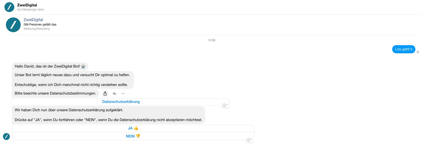 Facebook Manychat Messenger Bot