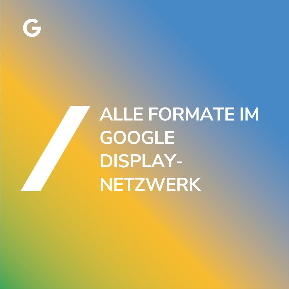 Das Google Displaynetzwerk