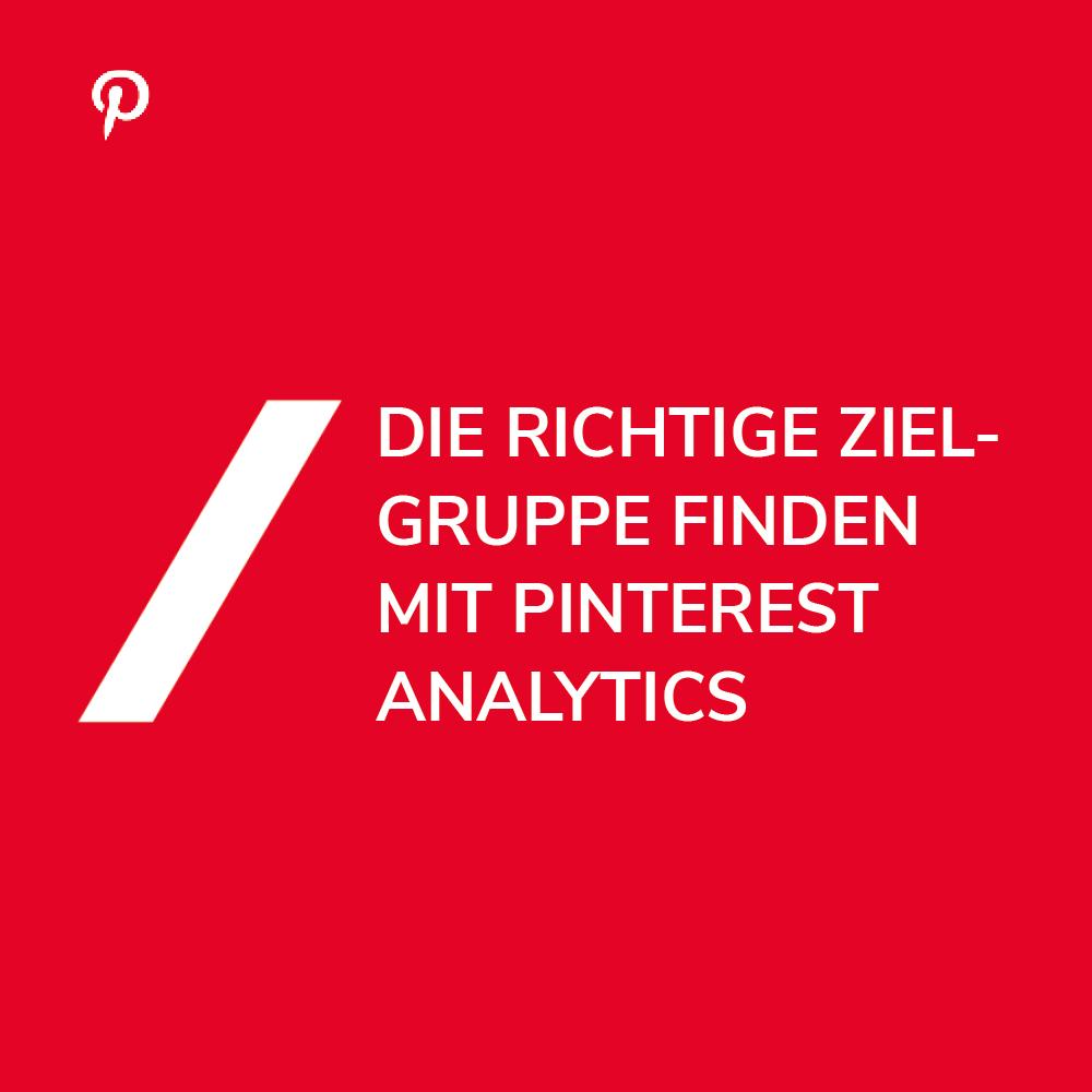 Pinterest Analytics verstehen