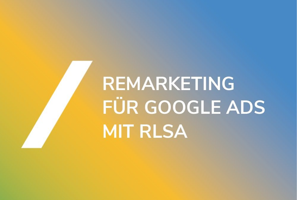 Remarketing Listen Google Ads