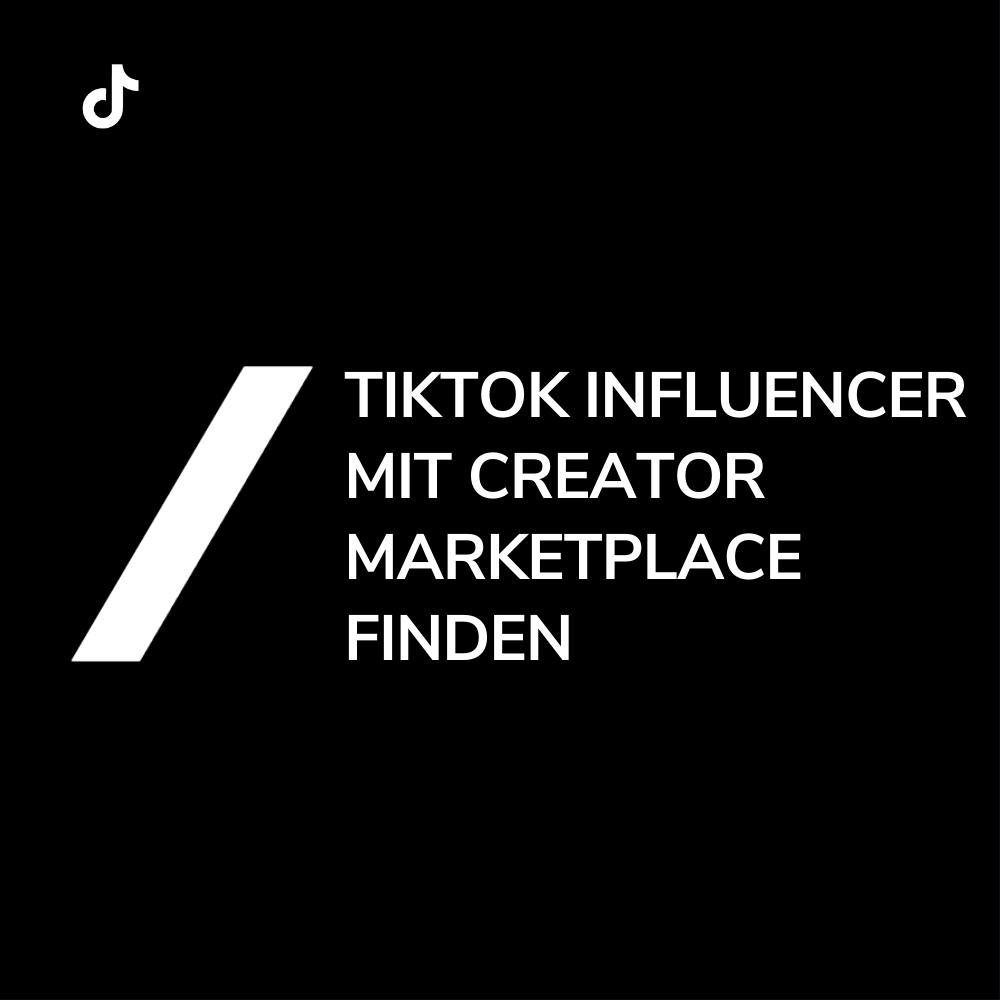 TikTok Influencer Kooperationen