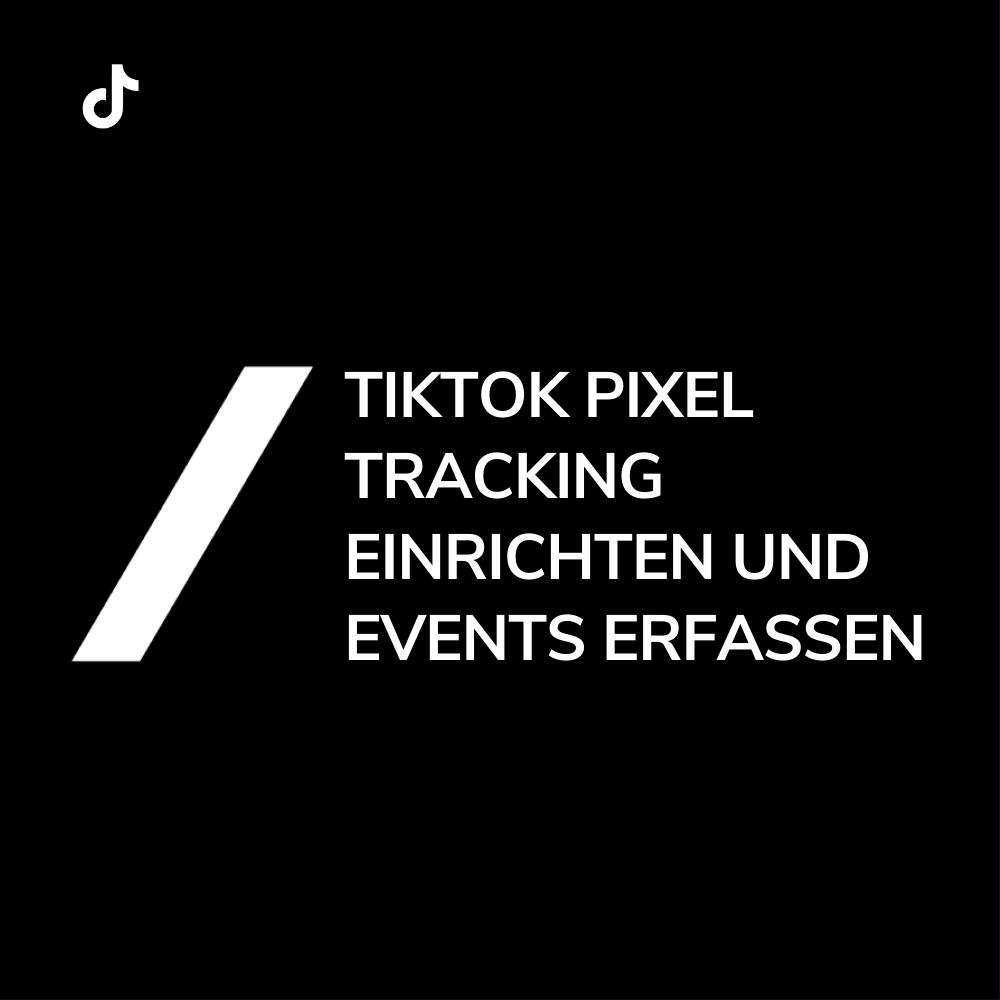 TikTok Pixel Tracking installieren