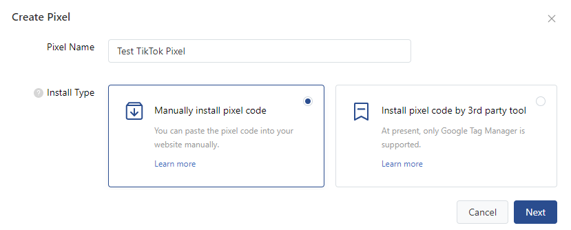 TikTok Tracking Pixel integrieren