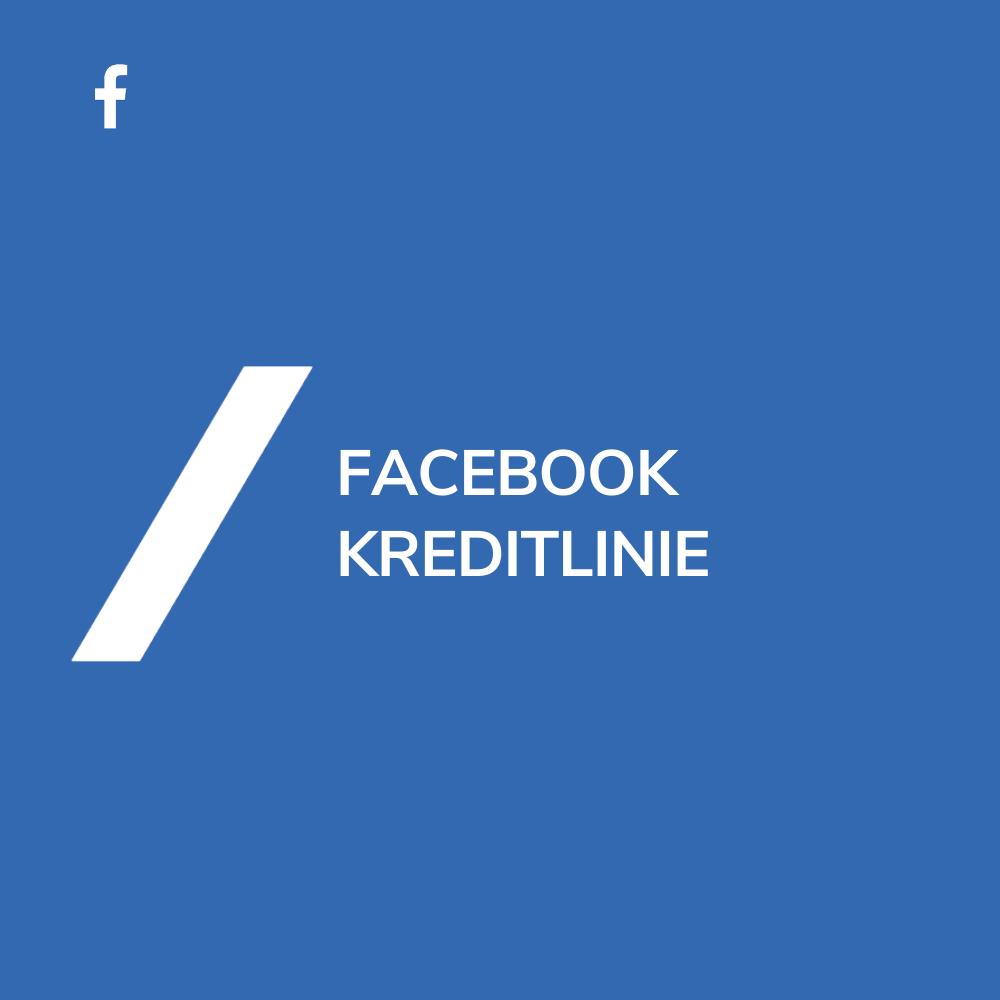 Facebook Kreditlinie
