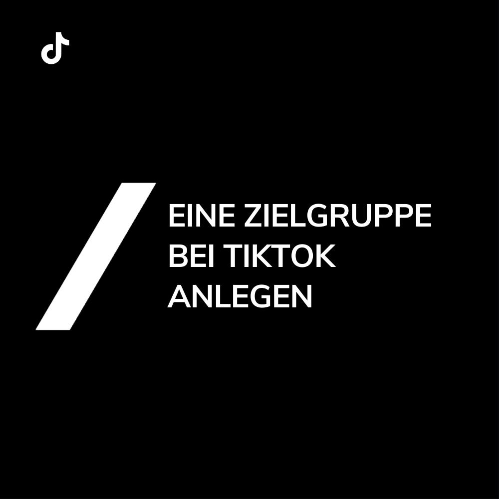 Blogbild TikTok Zielgruppen anlegen
