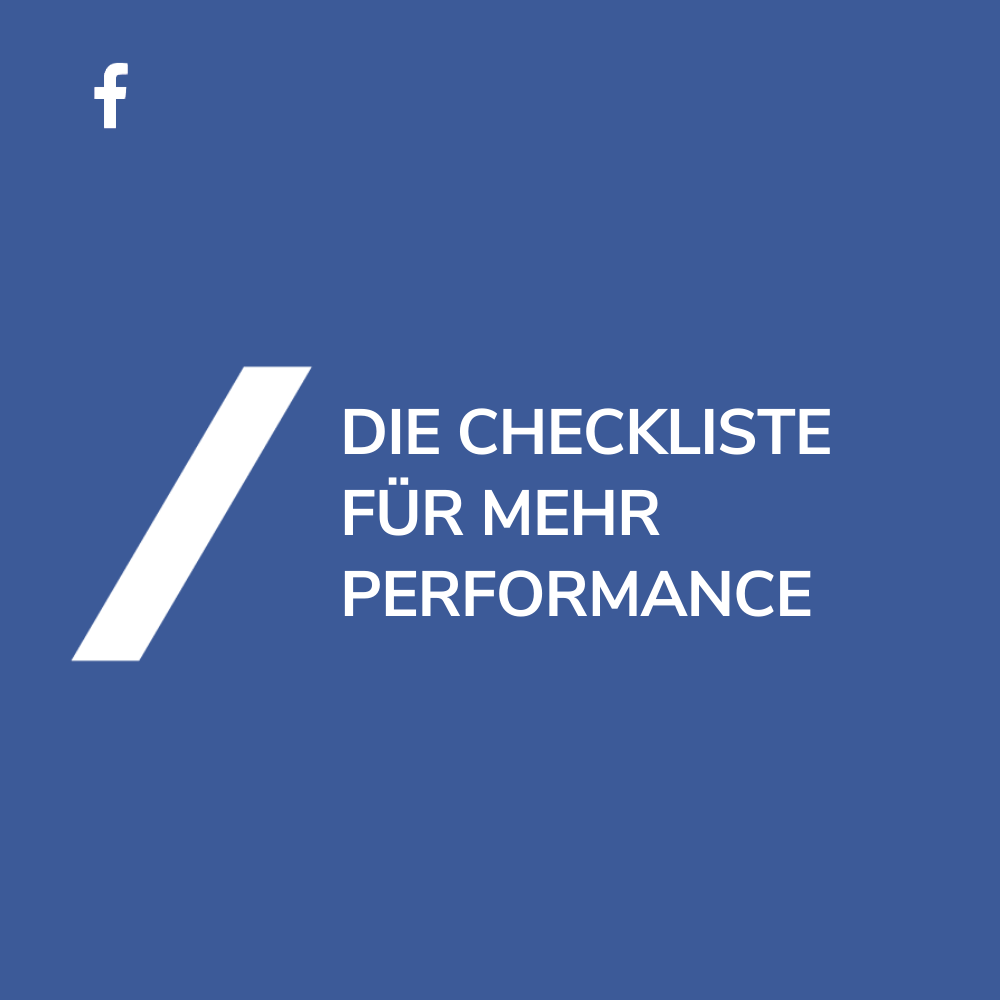 Facebook Ads optimieren