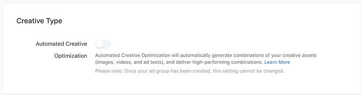 TikTok Automatisierte Werbemitteloptimierung