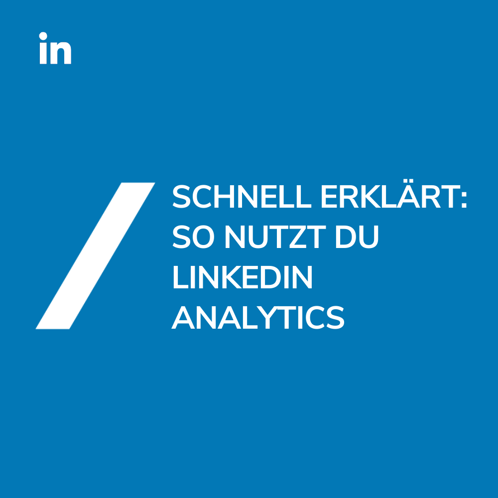 Titel_LinkedIn Analytics