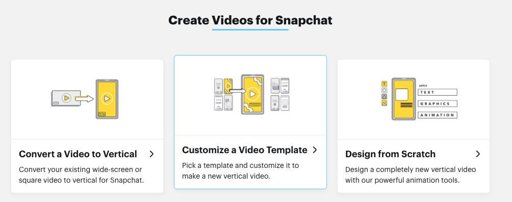 Snapchat Creative Studio