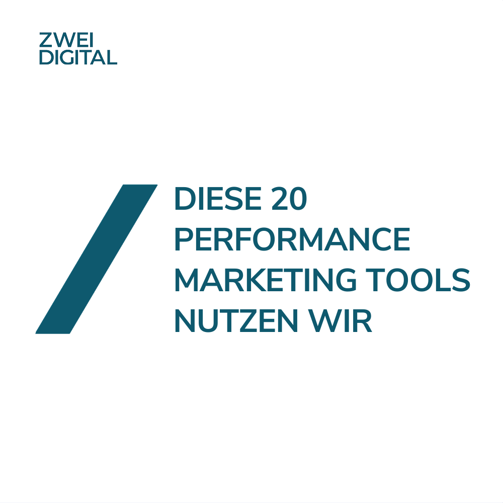 Performance Marketing Tools
