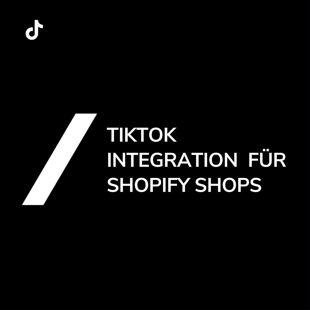 TikTok Integration Shopify