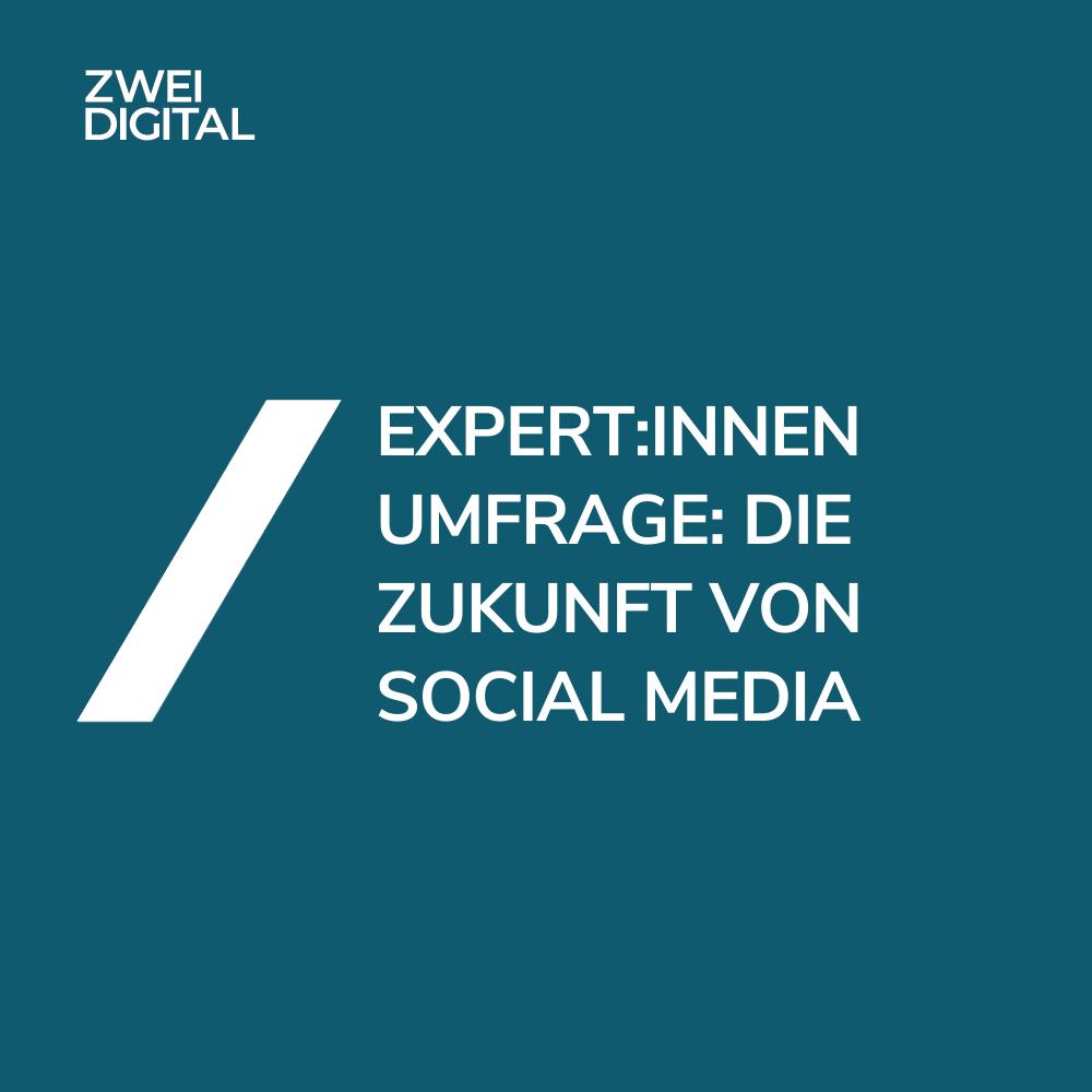 Die Zukunft von Social Media