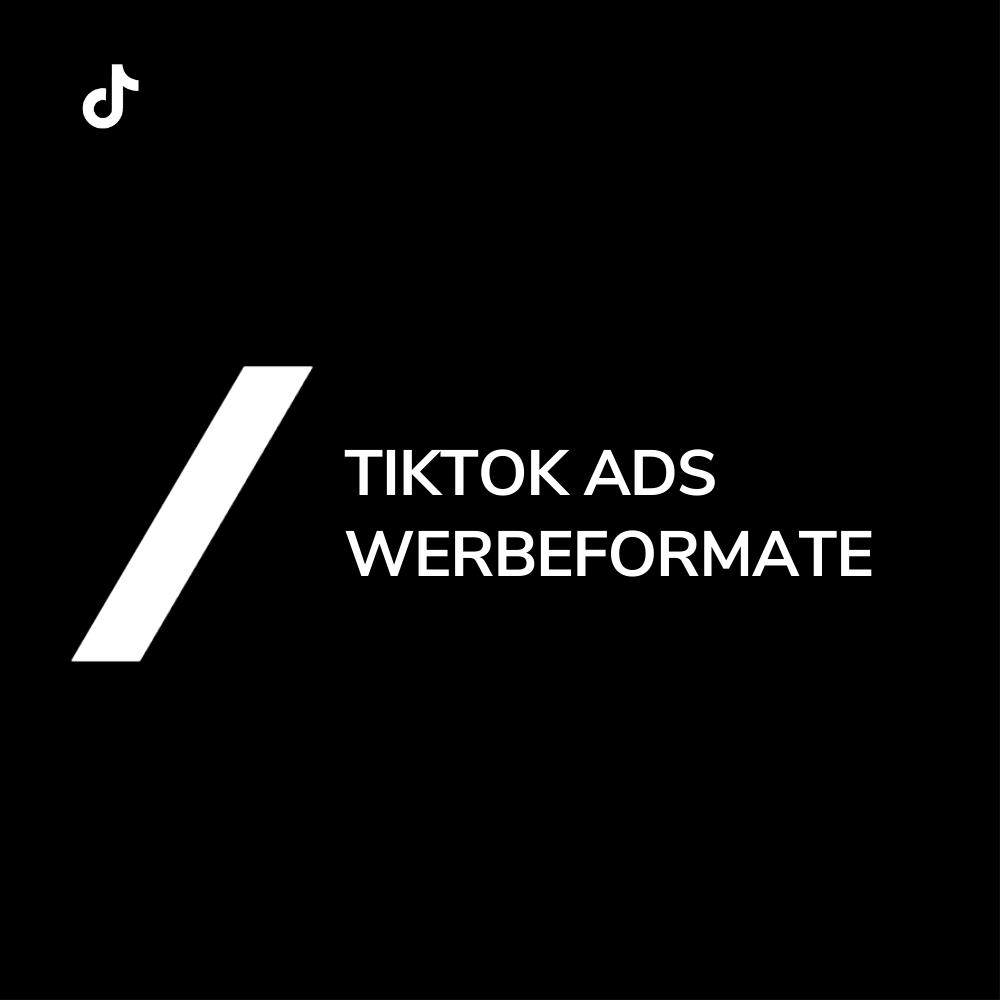 TikTok Ads Anzeigen Formate Größe
