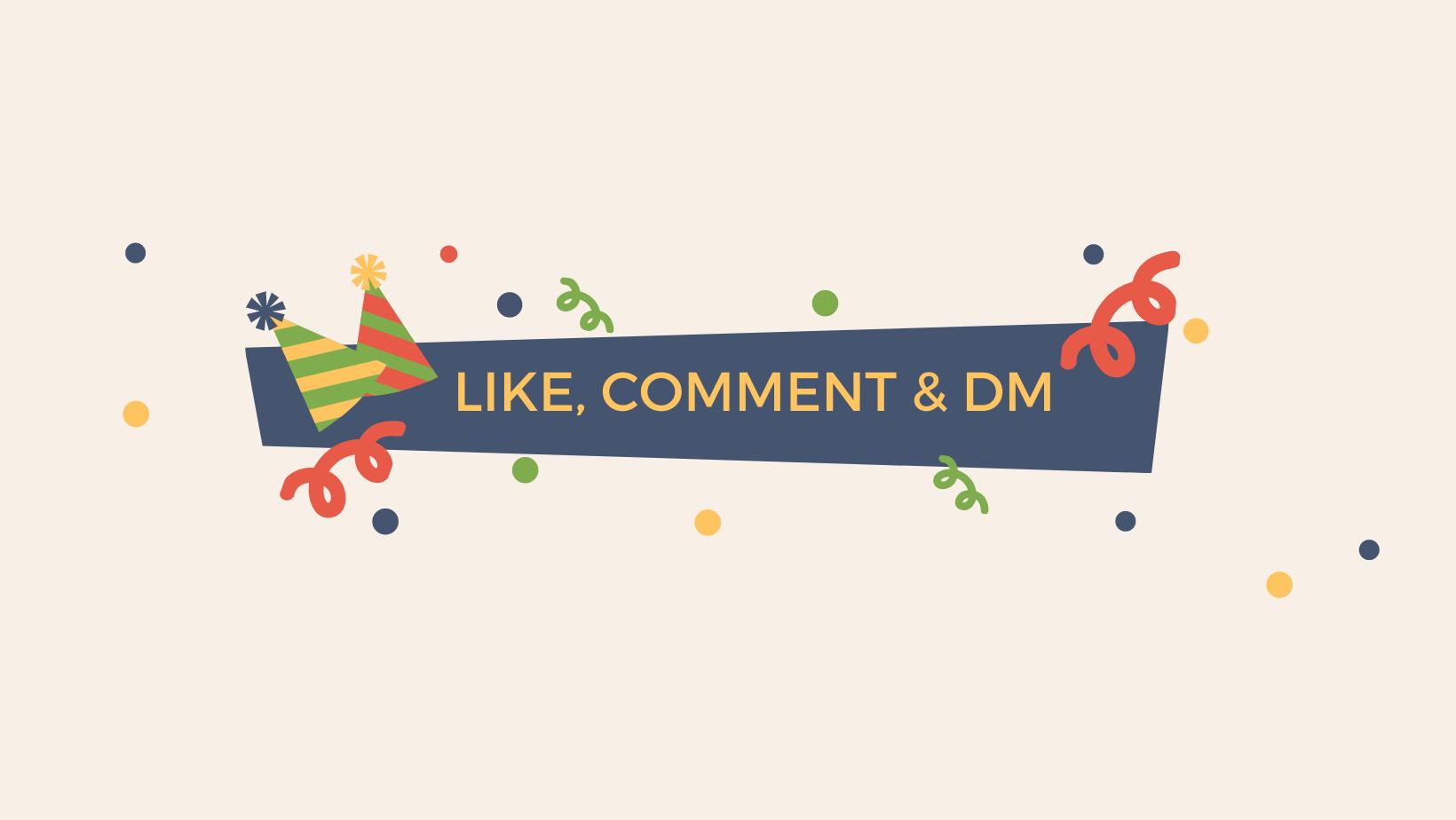 Interaktionen Facebook Gewinnspiel
