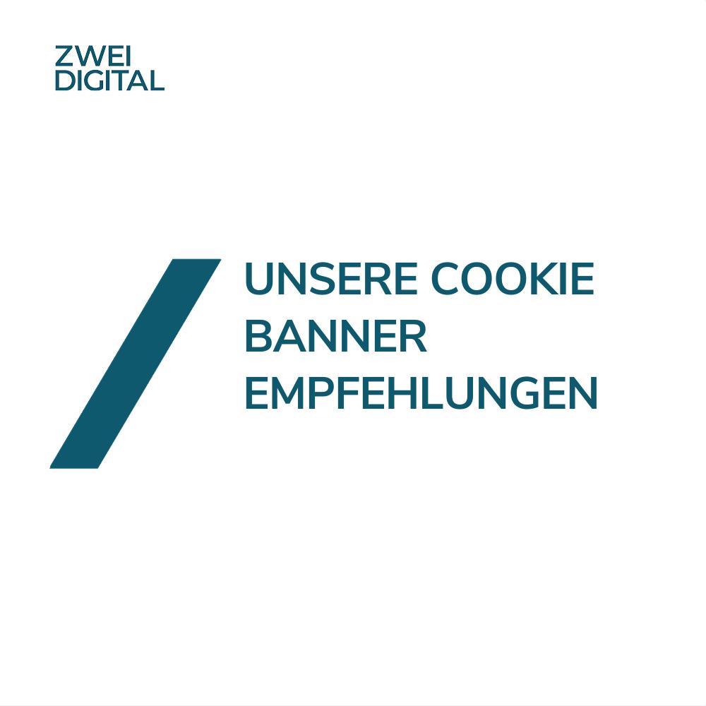Cookie Banner Empfehlungen