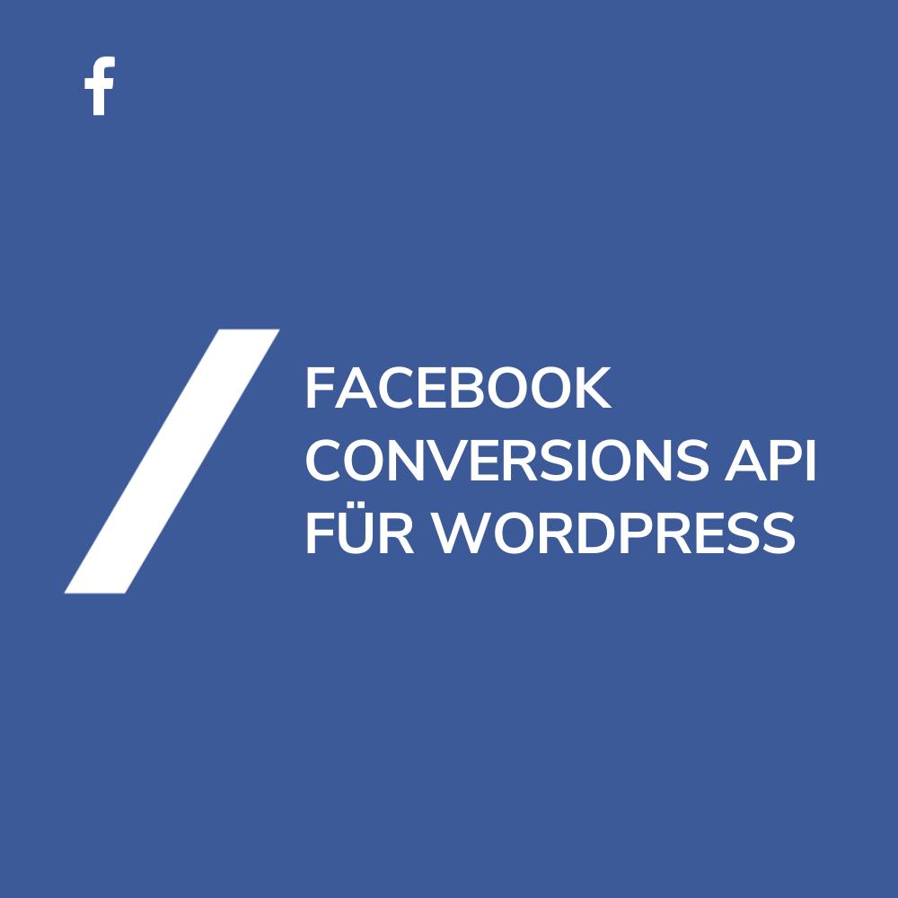 Facebook Conversions API WordPress WooCommerce
